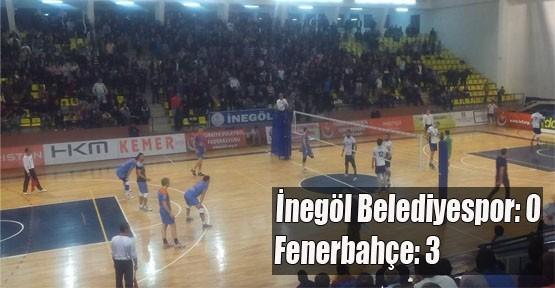 İnegöl Belediyespor:0 - Fenerbahçe : 3