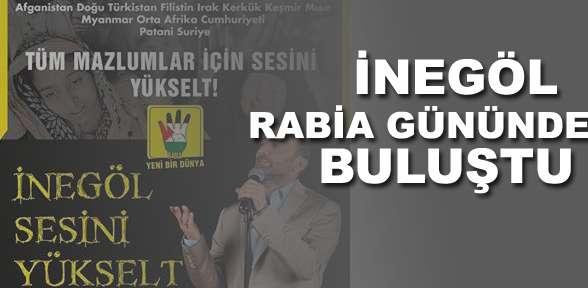 İnegöl Rabia Gününde buluştu!