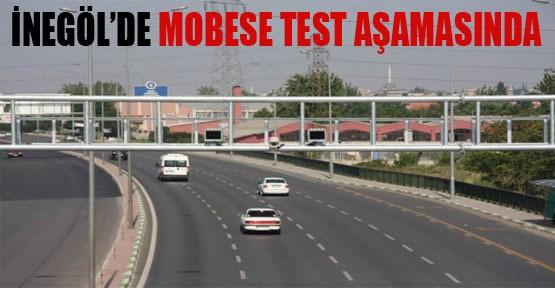 İnegöl'de MOBESE Test Aşamasında
