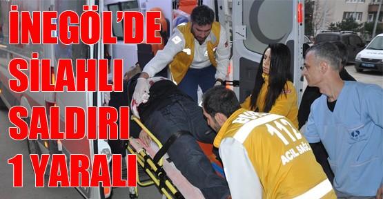 İnegöl'de Silahlı Saldırı: 1 yaralı