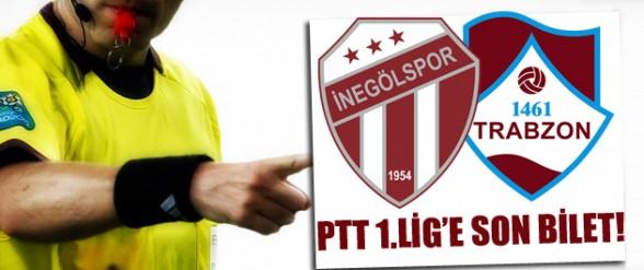 İnegölspor -1461 Trabzon maçını Bülent Yıldırım Yönetecek