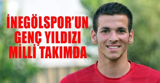 İnegölspor'un genç yıldızı Milli Takım'da