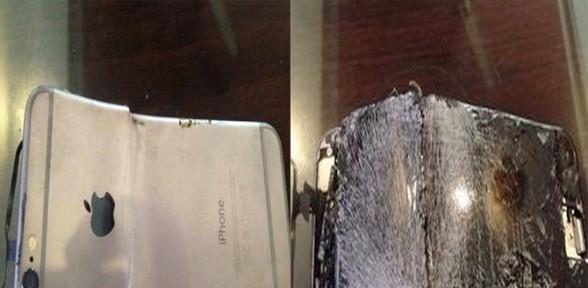 iPhone 6 konuşurken patladı !