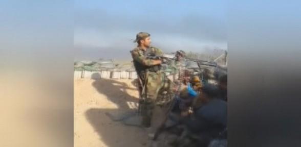 Işid Iraklı Teğmeni Böyle Vurdu