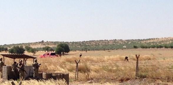 IŞİD mensupları sınıra mayın döşedi