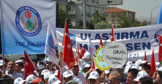 İsrail Büyükleçiliği önünde Protesto