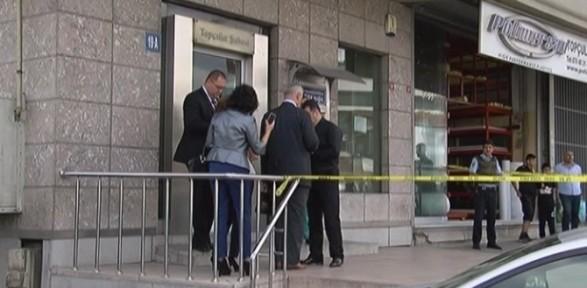 İstanbul'da bomba süsü verilmiş düzenekle banka soygunu