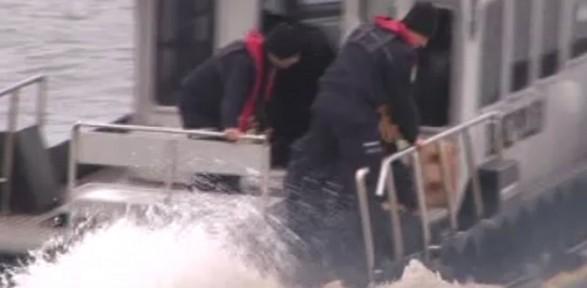 İstanbul'da Herkesin Gözü önünde Boğuldu