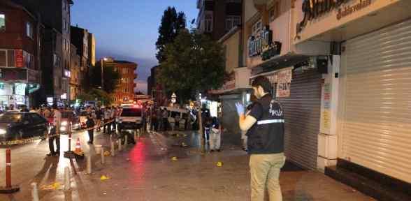 İstanbul'da Silahlar Konuştu: 2 ölü , 4 Yaralı