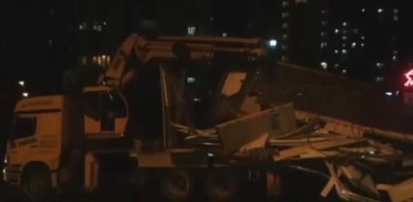 İstanbul'da Yine üstgeçit Kazası