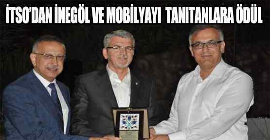 İtso İnegöl'ü ve Mobilyayı Tanıtanlara Ödül Verdi