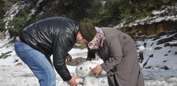 İzmir'in Kar Keyfi En Fazla Bu Kadar Olur