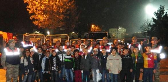 Jandarma öğrencileri