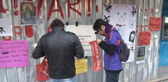 Kadıköy'de Nuh Köklü protestosu