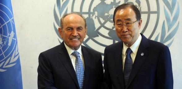 Kadir Topbaş BM'de konuştu