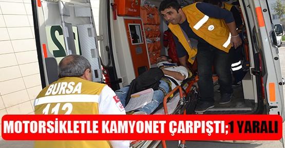 Kasım Efendi Caddesinde Kaza 1 yaralı