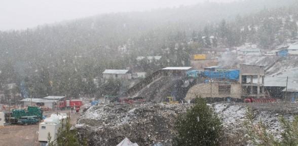 Kayıp Madencilerin üzerine Kar Yağdı