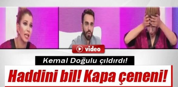 Kemal Doğulu çıldırdı !