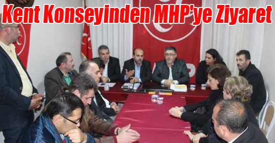 Kent Konseyinden MHP'ye Ziyaret