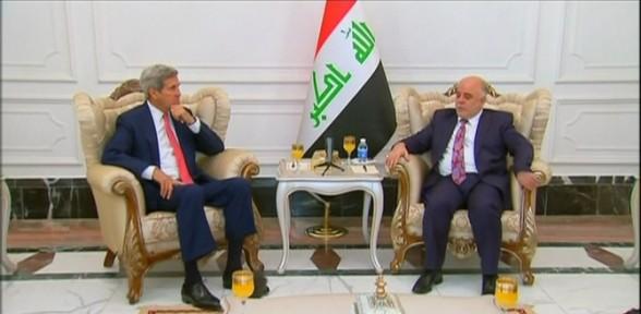 Kerry Yeni Başbakanla Görüştü