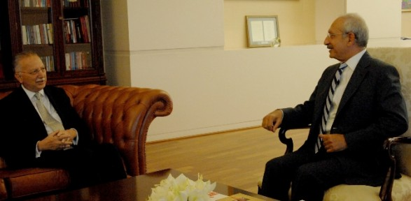Kılıçdaroğlu İhsanoğlu ile görüştü