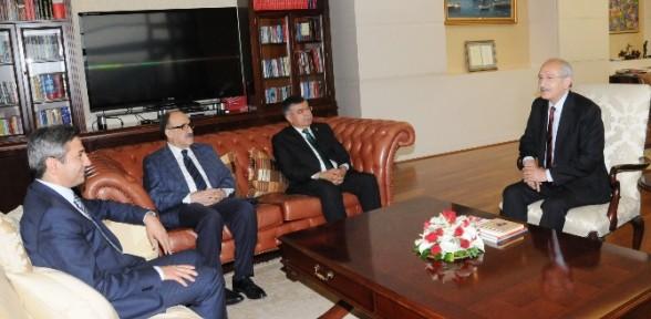 Kılıçdaroğlu-İsmet Yılmaz görüşmesi sona erdi
