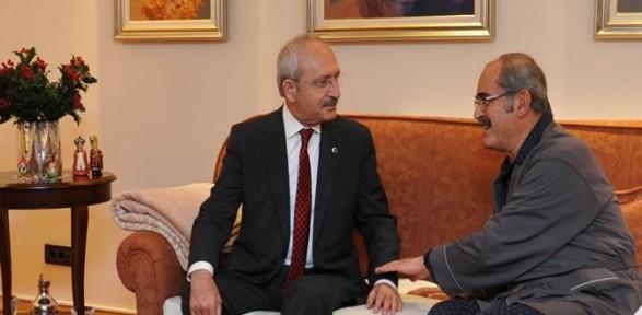 Kılıçdaroğlu'dan Büyükerşen'e Geçmiş Olsun Ziyareti