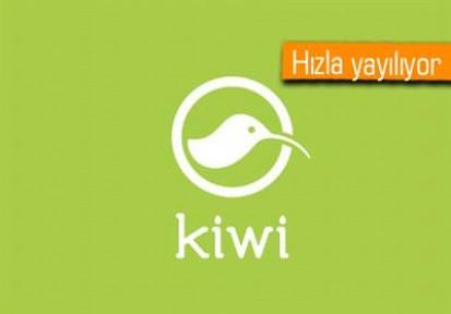 Kiwi Uygulaması Facebook'u esir aldı