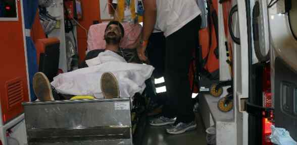Kızılay Görevlisi Gazze'de Yaralandı