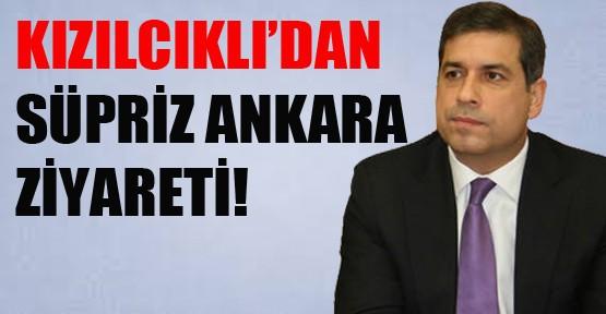 Kızılcıklı'dan Sürpriz Ankara Ziyareti!