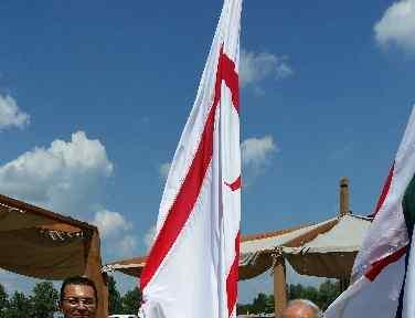 Kktc Bayrağı Macaristan'da Göndere çekildi