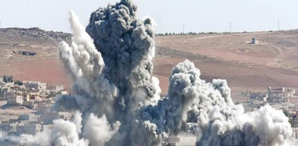 Kobani'de bombalı saldırı: 1 ölü ,40 yaralı