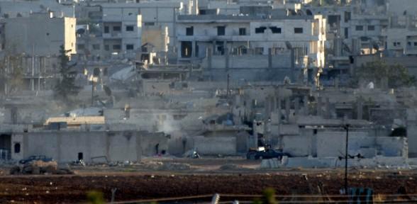 Kobani'deki Savaş Ilk Defa Bu Kadar Net Görüntülendi