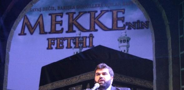 Konya'da ''mekke'nin Fetih'' Gecesi