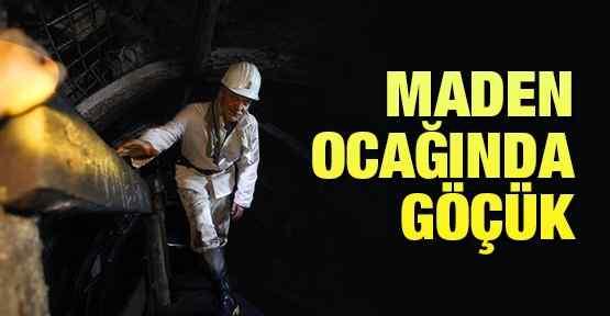 Maden Ocağında Göçük: 9 Kişi Mahsur