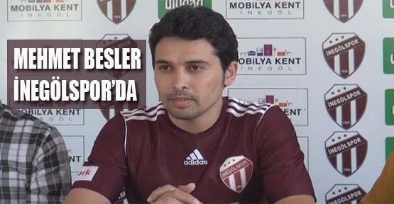 Mehmet Besler İnegölspor'da