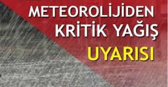 Meteorolojiden Bursaya flaş uyarı!