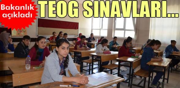 Milli Eğitim Bakanlığı'ndan 'TEOG' açıklaması
