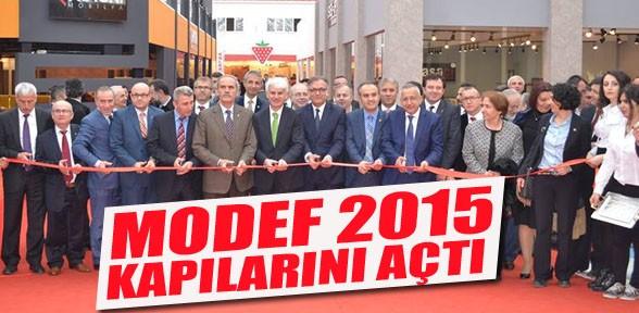 MODEF 2015 kapılarını açtı