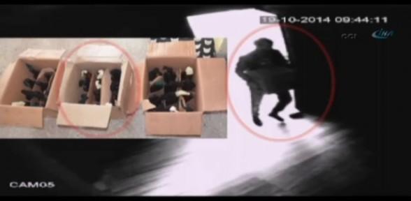 Molotof Imalathanesi Polis Kamerasında