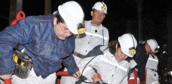 O Madendeki Kazanın Olduğu Noktaya Ilk Kez Ulaştılar