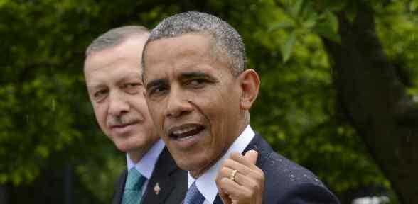 Obama Erdoğan'ı Tebrik Etti