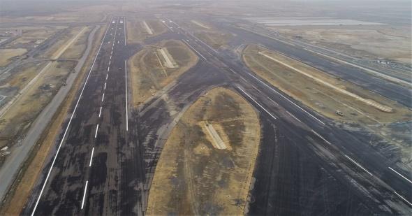 3. Havalimanı Cumhurbaşkanı Erdoğan'ı bekliyor