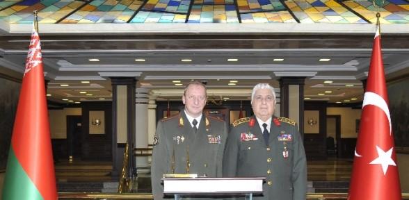 Orgeneral Özel'e Rus Mevkidaşından Ziyaret