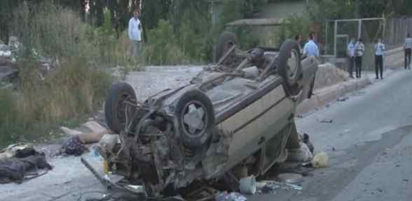 Otomobil Köprüden Uçtu: 5 Yaralı