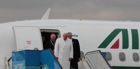 Papa İstanbul'da
