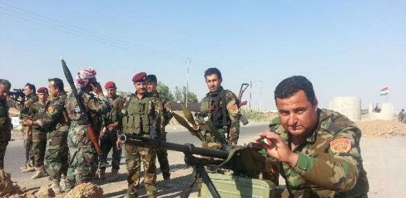Peşmerge Kobani'ye Havadan Ve Karadan Girecek