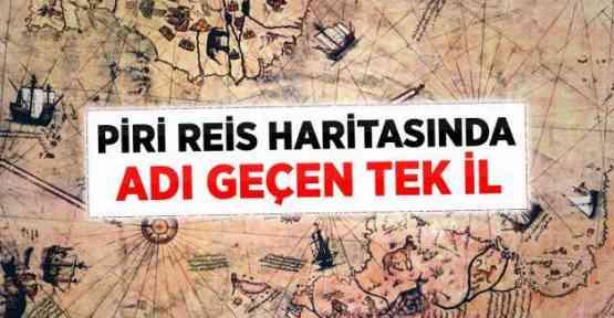 Piri Reis Haritasında Diyarbakır Detayı