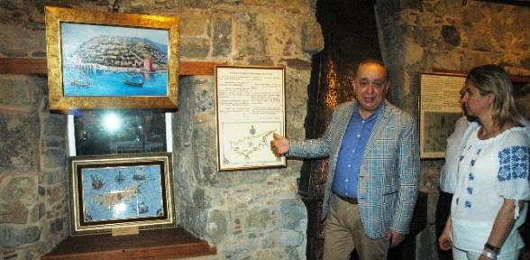 Piri Reis sergisini Cumhurbaşkanı açtı