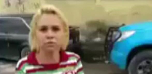 Polise rüşvet ile gelen kadın kamerada